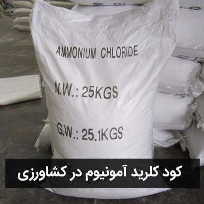 کود کلرید آمونیوم در کشاورزی